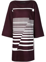 Jean Pierre Braganza Jean Pierre Braganza 'Peacemaker' Dress Red