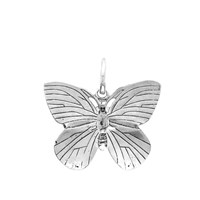 Raf Simons Butterfly Charm Silver