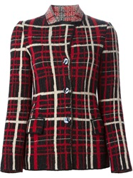 Jean Paul Gaultier Vintage 'Le Puzzle' Jacket Red