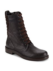 Aquatalia By Marvin K Quilted Leather Boots Espresso