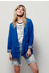 Free People Long Simply Blazer