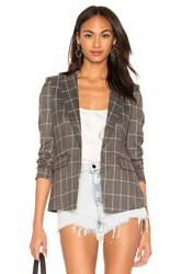 Central Park West X Revolve Blazer Gray