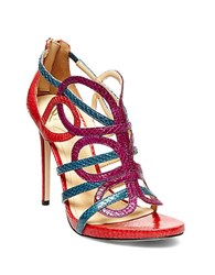 Brian Atwood Tira Heeled Sandals Multi Colored