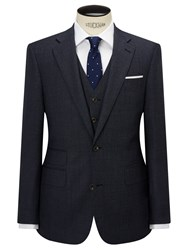 Chester Barrie By Pindot Wool Tailored Suit Jacket Airforce