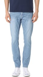 White Mountaineering Stretch Slim Denim Jeans Indigo