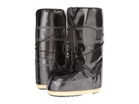 Tecnica Moon Boot Vinyl Met Black Women's Boots