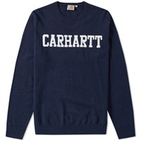 Carhartt College Crew Knit Blue