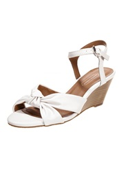 Dorothy Perkins Parry Wedge Sandals White