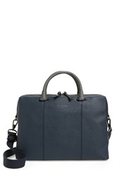 Ted Baker London Pounce Briefcase Blue Navy