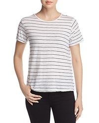 Michelle By Comune Pendergrass Striped Tee White Black