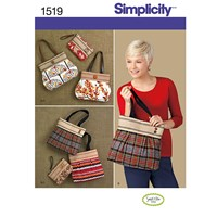 Simplicity Bags Sewing Pattern 1519