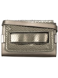 Mara Mac Metallic Textured Shoulder Bag