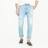J.Crew Wallace And Barnes Destroyed Selvedge Jean