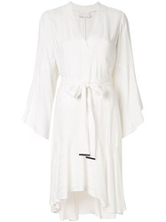 Ginger And Smart Nemesis Tie Waist Dress White