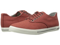 Seavees 08 63 Hermosa Plimsoll Core Cayenne Men's Lace Up Casual Shoes Red