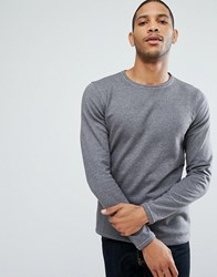 Selected Homme Crew Neck Sweat Frost Grey