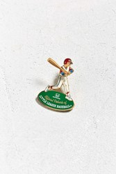 Urban Outfitters Vintage Little League Baseball Pin Green