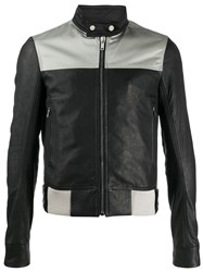 Rick Owens Fitted Leather Jacket 60