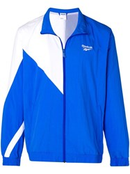 Reebok Logo Sports Jacket Blue
