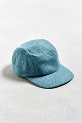 Urban Outfitters Uo Polar Fleece 5 Panel Hat Teal