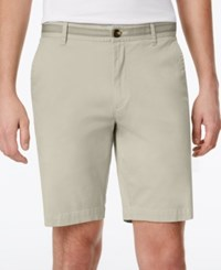 Club Room Men's Stretch Flat Front Shorts Only At Macy's Sand Villa