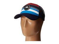 Quiksilver Striped Vee Chili Pepper Caps Red