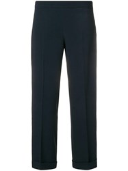Max Mara 'S Cropped Trousers Blue