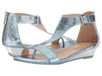 Kenneth Cole Reaction Great Gal Storm Metallic Sandals Blue