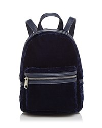 Cynthia Rowley Mini Backpack Navy Silver