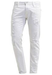 Japan Rags Slim Fit Jeans White