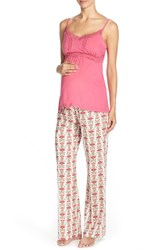Women's Belabumbum Nursing Cotton Pajamas