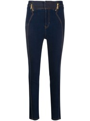 Versace Jeans Couture Zipped Yoke Skinny Jeans 60