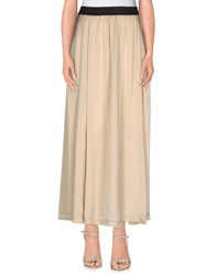 Michelle Windheuser Skirts Long Skirts Women Beige
