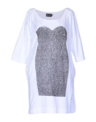 B Store Dresses Short Dresses Women White
