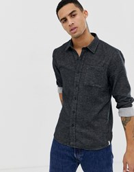 Hymn Brushed Oxford Shirt Black