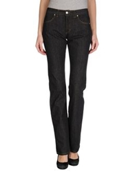 Gianfranco Ferre Ferre' Jeans Denim Pants Black