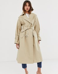2Nd Day 2Ndday Tallulah Trench Coat Stone