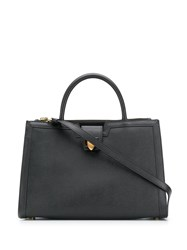 Philippe Model Square Shaped Tote Black