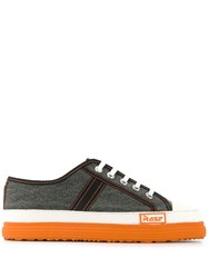 Martine Rose Low Top Colour Block Sneakers Low Basketball Shoe M Low Basketball Shoe M Negro Washed Canvas