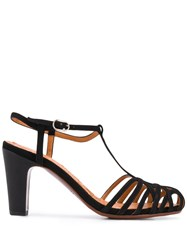 Chie Mihara 90Mm Cut Out Sandals Black
