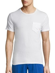 Polo Ralph Lauren Custom Fit Cotton Tee White