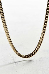 Vallour Miami Curb Chain Necklace Gold