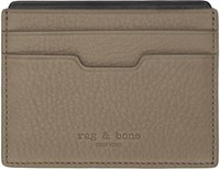 Rag And Bone Brown Leather Card Holder