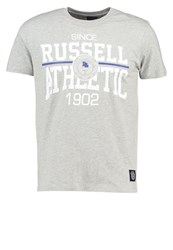Russell Athletic Rosette Print Tshirt Grey