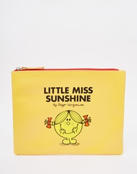 Little Miss Sunshine Pouch Yellow