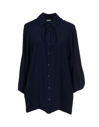Tucker Shirts Dark Blue