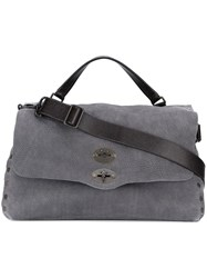 Zanellato 'Postina' Messenger Bag Grey