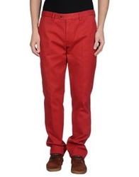 Brooksfield Casual Pants Brick Red