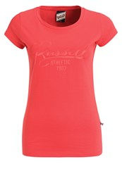 Russell Athletic Print Tshirt Coral