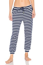 Beyond Yoga X Kate Spade Relaxed Sweatpant Navy